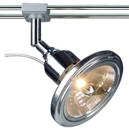 SLV 138882 QRB Spot 50W Chrome Wave 12V Stick System Light