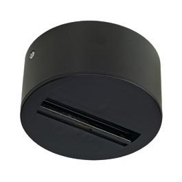 SLV 145740 Ceiling Canopy Black Eutrac 3 Circuit 240V Track Accessory