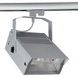 SLV 150322 HQI-TS Flood 70W Silver Grey Eutrac 3 Circuit 240V Track Light
