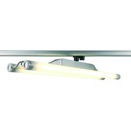 SLV 152182 Twin Tube 2x39W Silver Grey Eutrac 3 Circuit 240V Track Light