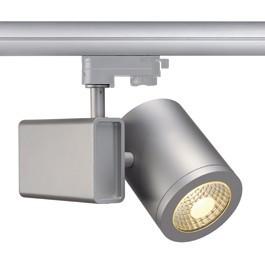 SLV 152464 Enola C18 LED 18W 3000K 35 Degree Silver Grey Eutrac 3 Circuit 240V Track Light