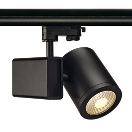 SLV 152470 Enola C18 LED 18W 3000K 55 Degree Black Eutrac 3 Circuit 240V Track Light