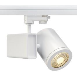 SLV 152471 Enola C18 LED 18W 3000K 55 Degree White Eutrac 3 Circuit 240V Track Light