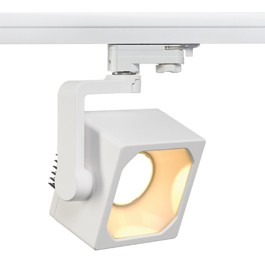 SLV 152721 Euro Cube DMLI LED 28W 3000K White Eutrac 3 Circuit 240V Track Light
