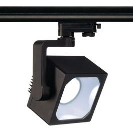 SLV 152730 Euro Cube DMLI LED 26W 4000K Black Eutrac 3 Circuit 240V Track Light
