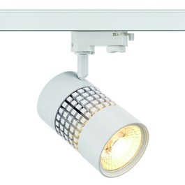 SLV 152821 Structec LED 22W 3000K 38 Degree White Eutrac 3 Circuit 240V Track Light