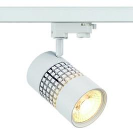 SLV 152841 Structec LED 30W 3000K 38 Degree White Eutrac 3 Circuit 240V Track Light