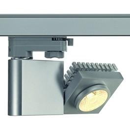 SLV 152904 Structec LED 10W 3000K 38 Degree Silver Grey Eutrac 3 Circuit 240V Track Light