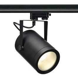SLV 153380 Euro Spot LED DLMI 15W 3000K Black Eutrac 3 Circuit 240V Track Light