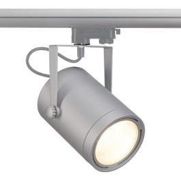 SLV 153384 Euro Spot LED DLMI 15W 3000K Silver Grey Eutrac 3 Circuit 240V Track Light