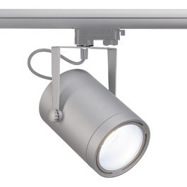 SLV 153394 Euro Spot LED DLMI 14W 4000K Silver Grey Eutrac 3 Circuit 240V Track Light