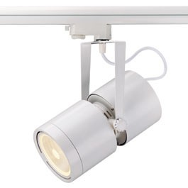 SLV 153401 Euro Spot G12 70W 15 Degree White Eutrac 3 Circuit 240V Track Light