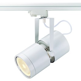 SLV 153411 Euro Spot G12 70W 60 Degree White Eutrac 3 Circuit 240V Track Light