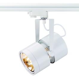 SLV 153431 Euro Spot QRB111 75W White Eutrac 3 Circuit 240V Track Light