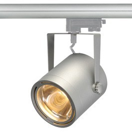 SLV 153494 Euro Spot LED Disk 800 12W 2700K Silver Grey Eutrac 3 Circuit 240V Track Light
