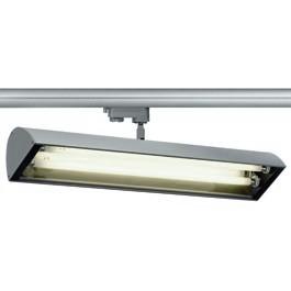 SLV 153524 Nepro 2 T5 2x24W Silver Grey Eutrac 3 Circuit 240V Track Light