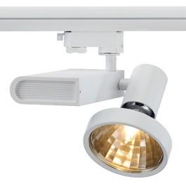 SLV 153661 Sleek Spot G12 70W 48 Degree White Eutrac 3 Circuit 240V Track Light