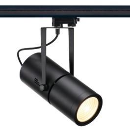 SLV 153840 Euro Spot Electronic Ballast 50W 60 Degree Black Eutrac 3 Circuit 240V Track Light