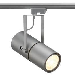 SLV 153844 Euro Spot Electronic Ballast 50W 60 Degree Silver Grey Eutrac 3 Circuit 240V Track Light