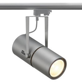 SLV 153834 Euro Spot Electronic Ballast 50W 15 Degree Silver Grey Eutrac 3 Circuit 240V Track Light