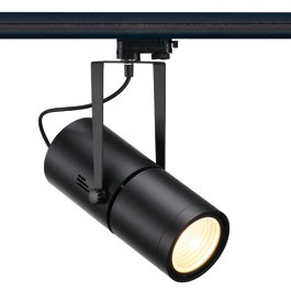 SLV 153860 Euro Spot Electronic Ballast 35W 15 Degree Black Eutrac 3 Circuit 240V Track Light