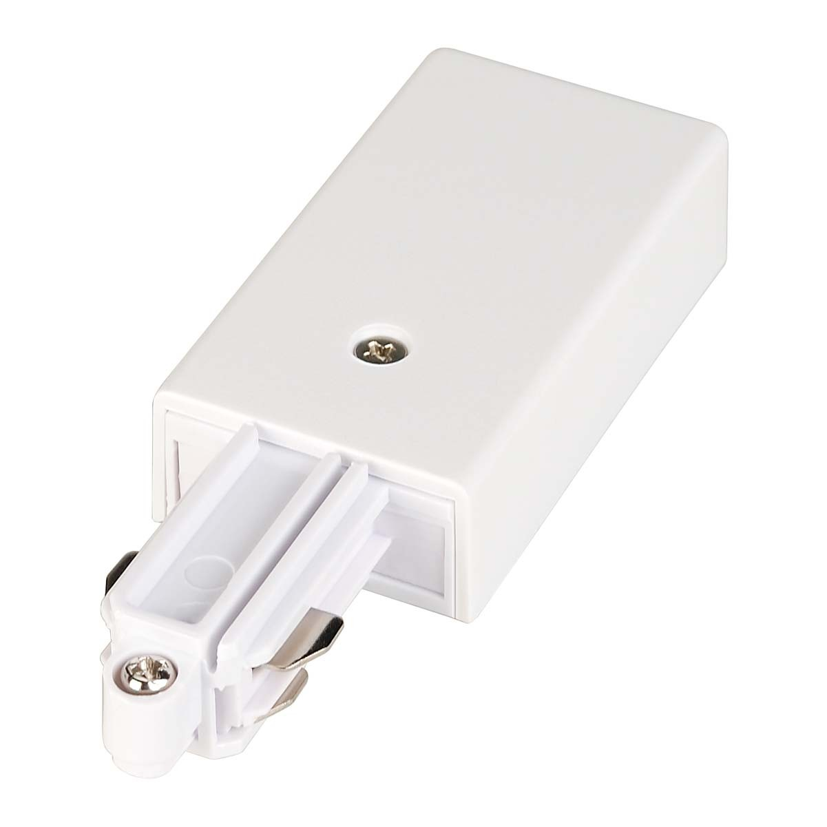 SLV 143041 Feed In Earth Right White 1 Circuit 240V Track Accessory
