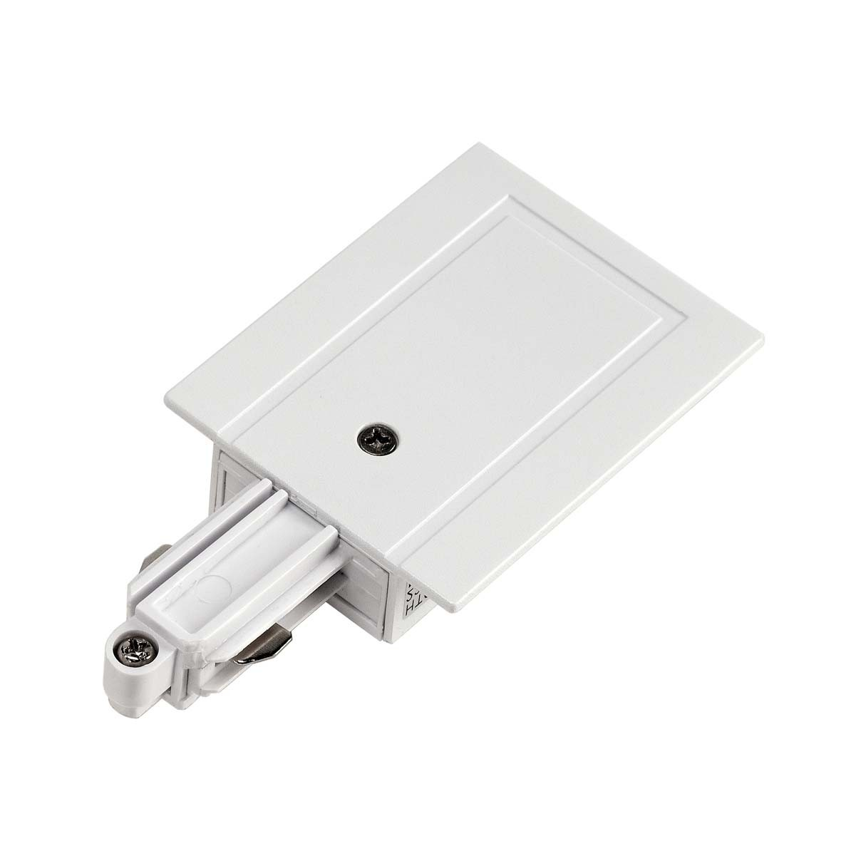 SLV 143231 Feed In Earth Left White 1 Circuit 240V Recessed Track Accessory