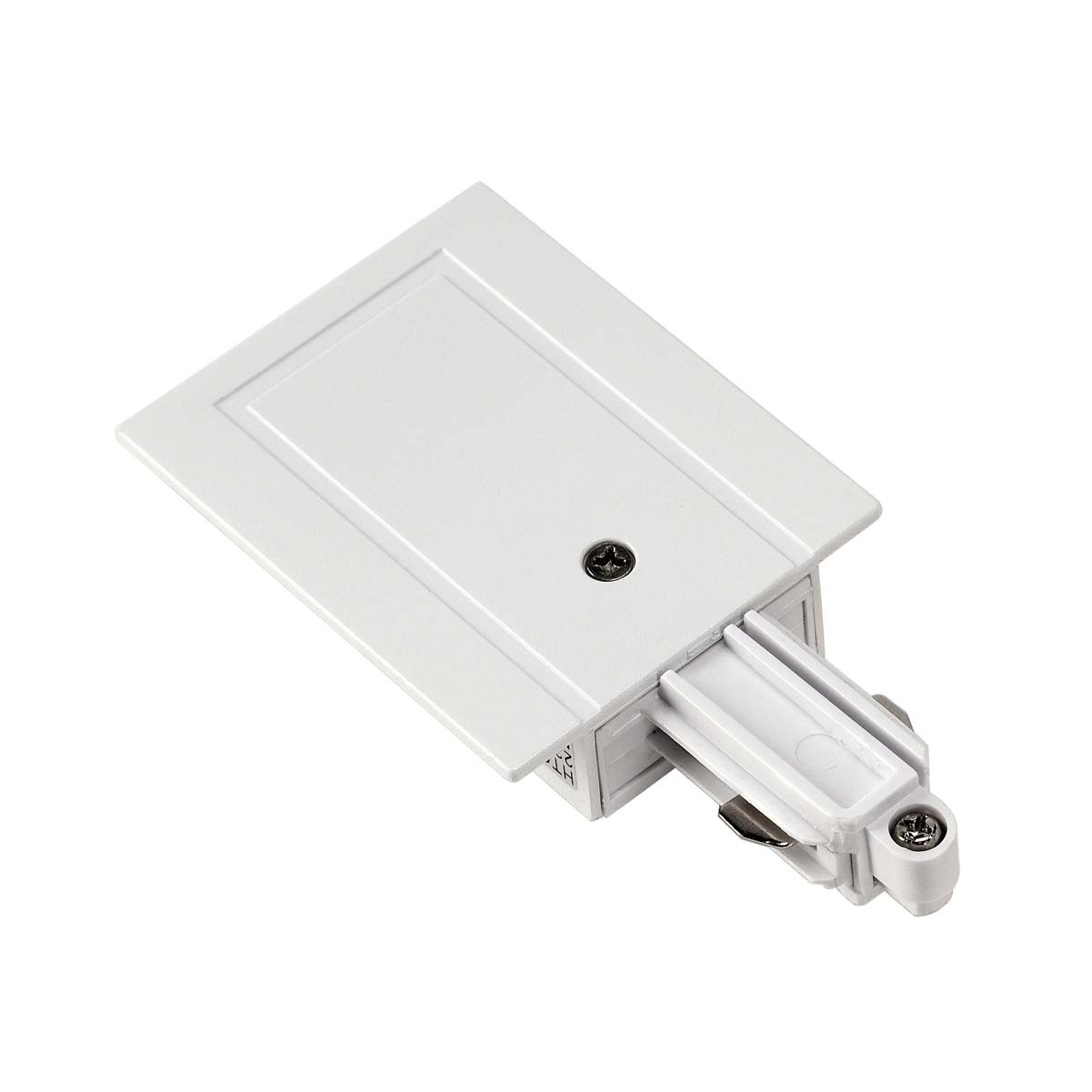 SLV 143241 Feed In Earth Right White 1 Circuit 240V Recessed Track Accessory