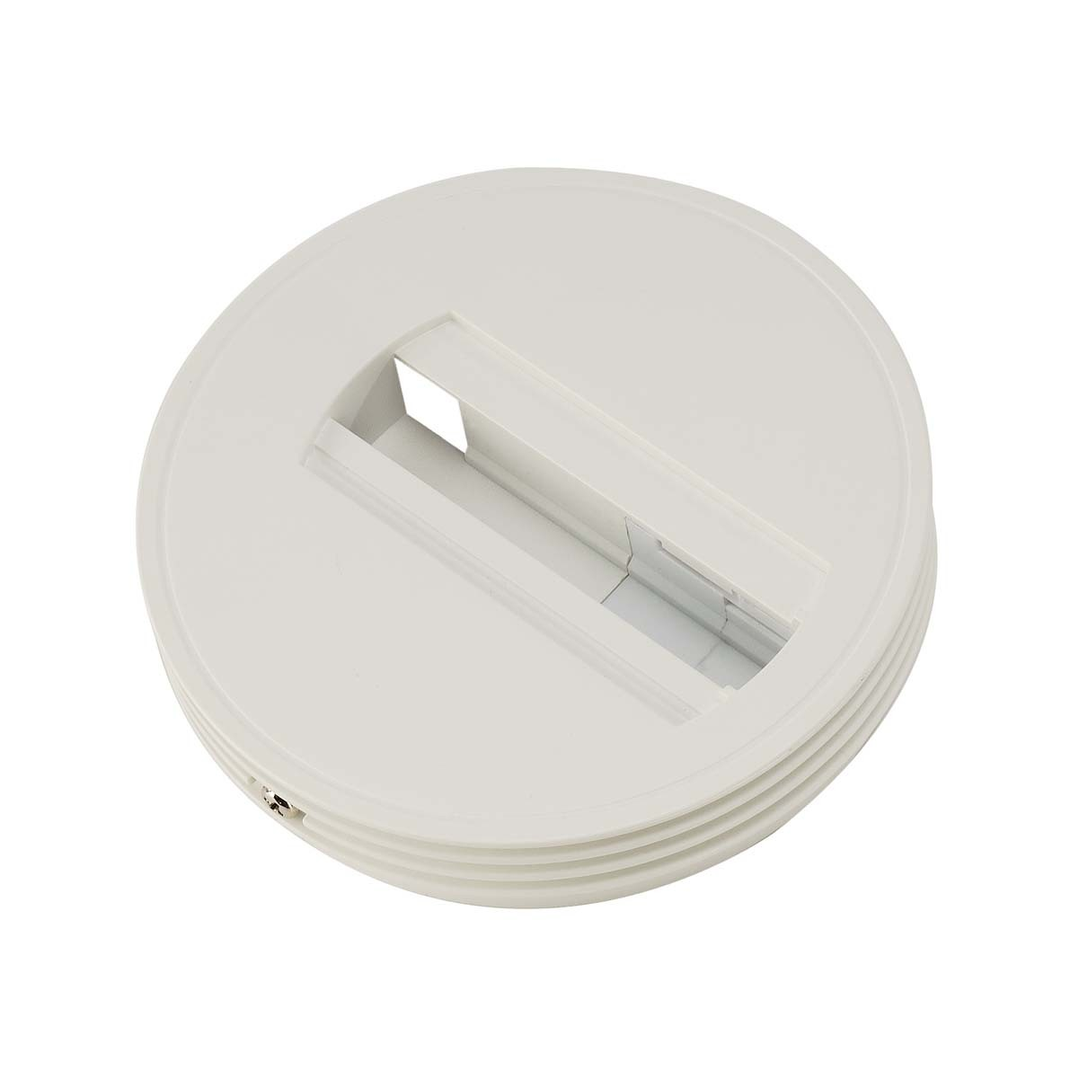 SLV 143381 Ceiling Canopy White 1 Circuit 240V Track Accessory
