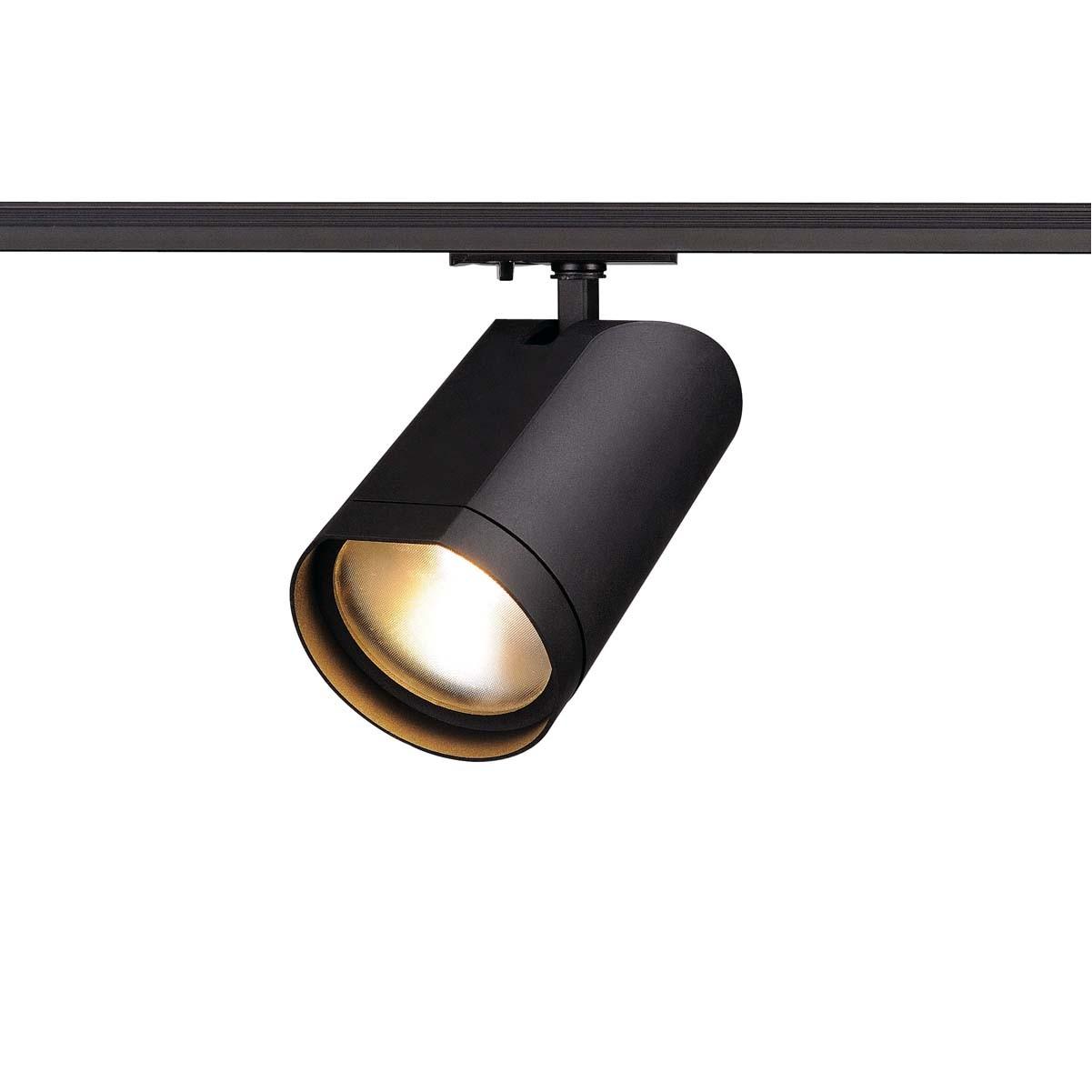 SLV 143560 Bilas LED Spot 15W 2700K 1 Circuit 240v Track Light Matt Black