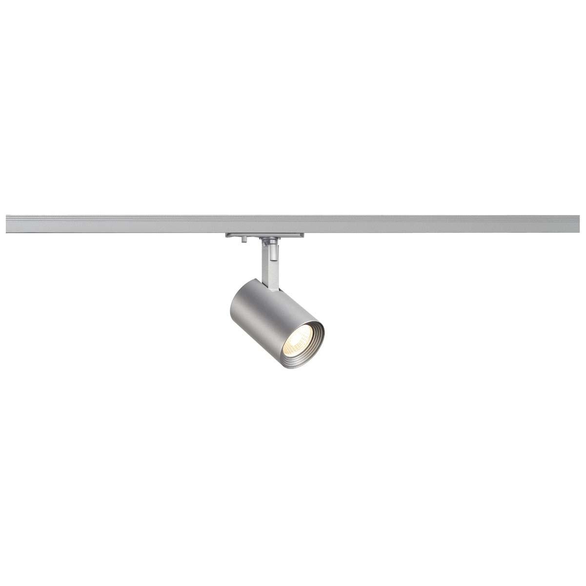 SLV 143574 Debasto Spot LED 8W 3000K 1 Circuit 240v Track Light Silver Grey