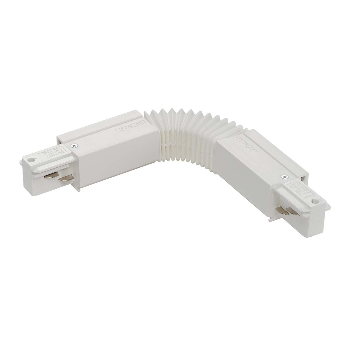 SLV 145581 Flex Connector White Eutrac 3 Circuit 240V Surface Track Accessory