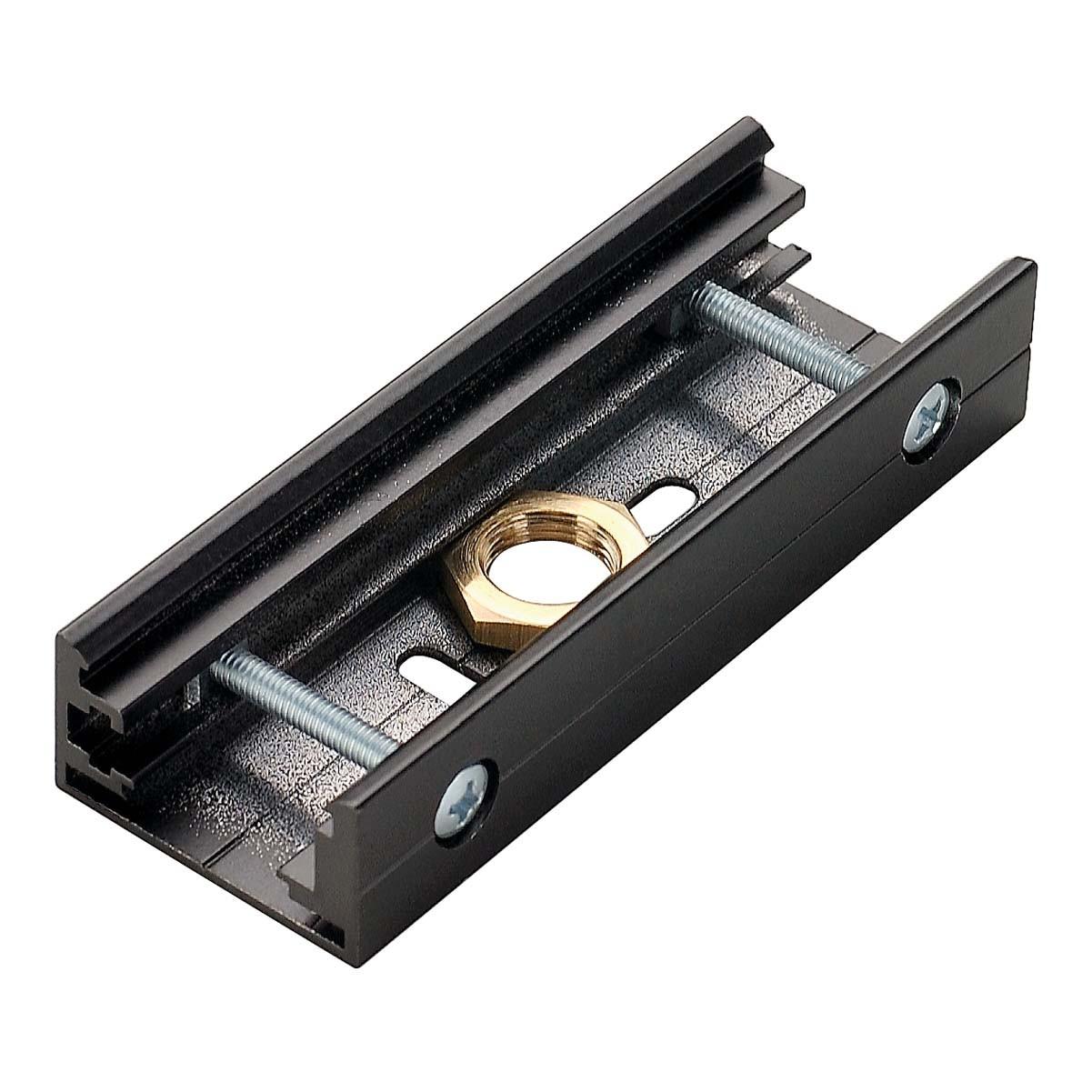 SLV 145600 Pendant Coupler Black Eutrac 3 Circuit 240V Surface Track Accessory