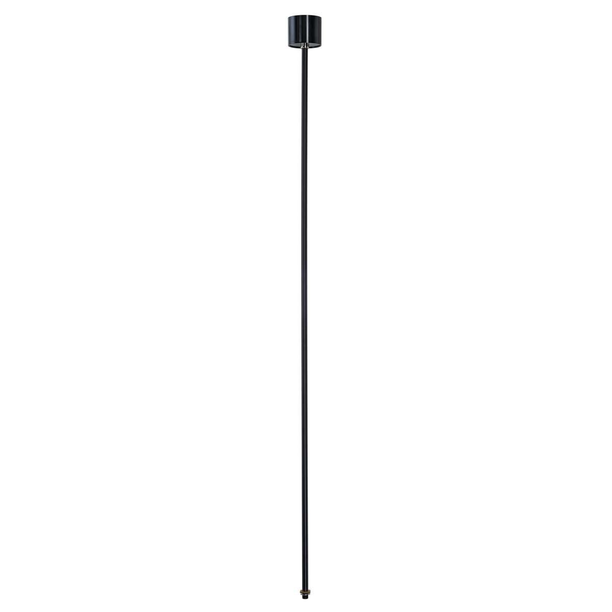 SLV 145710 Pendant Suspension 1.2m Black Eutrac 3 Circuit 240V Surface Track Accessory