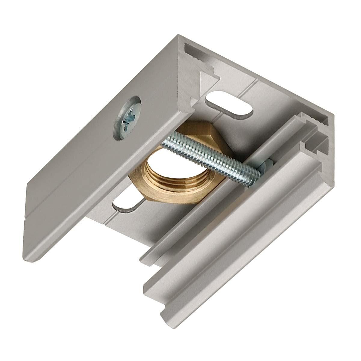SLV 145734 Pendant Clip Silver Grey Eutrac 3 Circuit 240V Surface Track Accessory