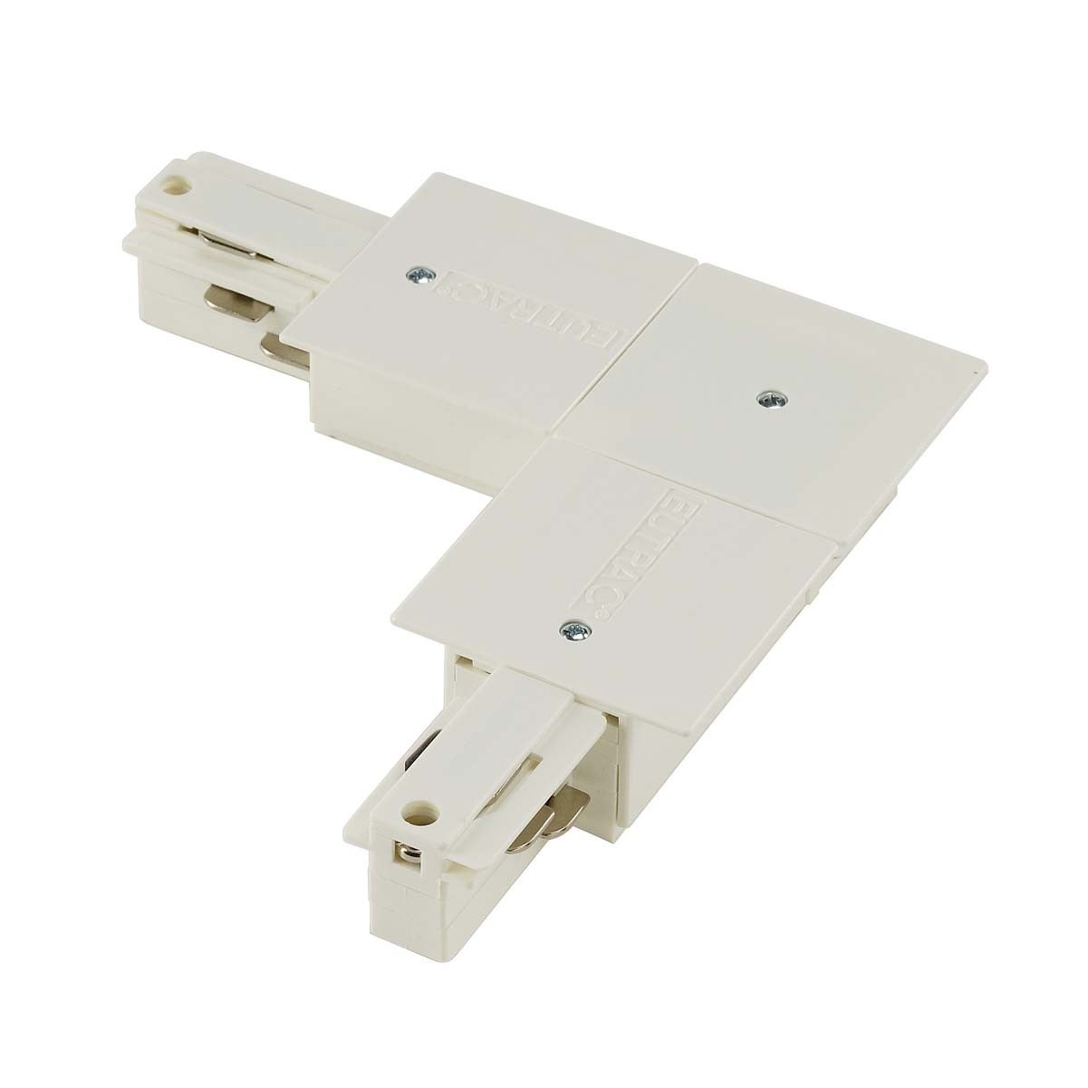 SLV 145751 L Coupler Earth Inner White Eutrac 3 Circuit 240V Recessed Track Accessory