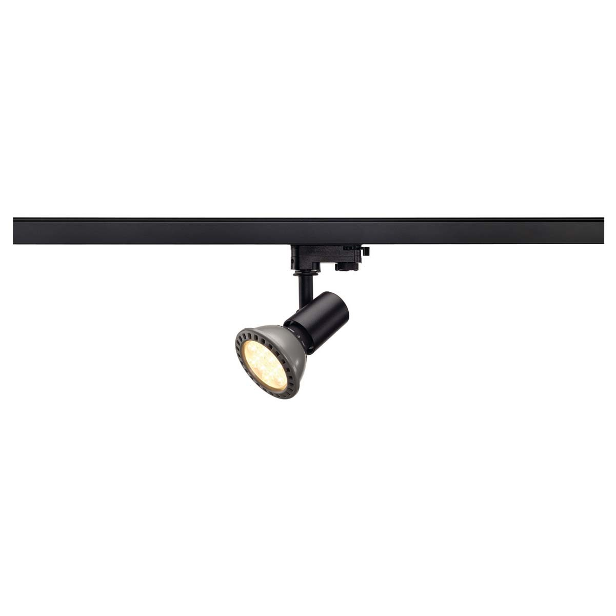 SLV 152200 E27 Spot 75W Black Eutrac 3 Circuit 240V Track Light