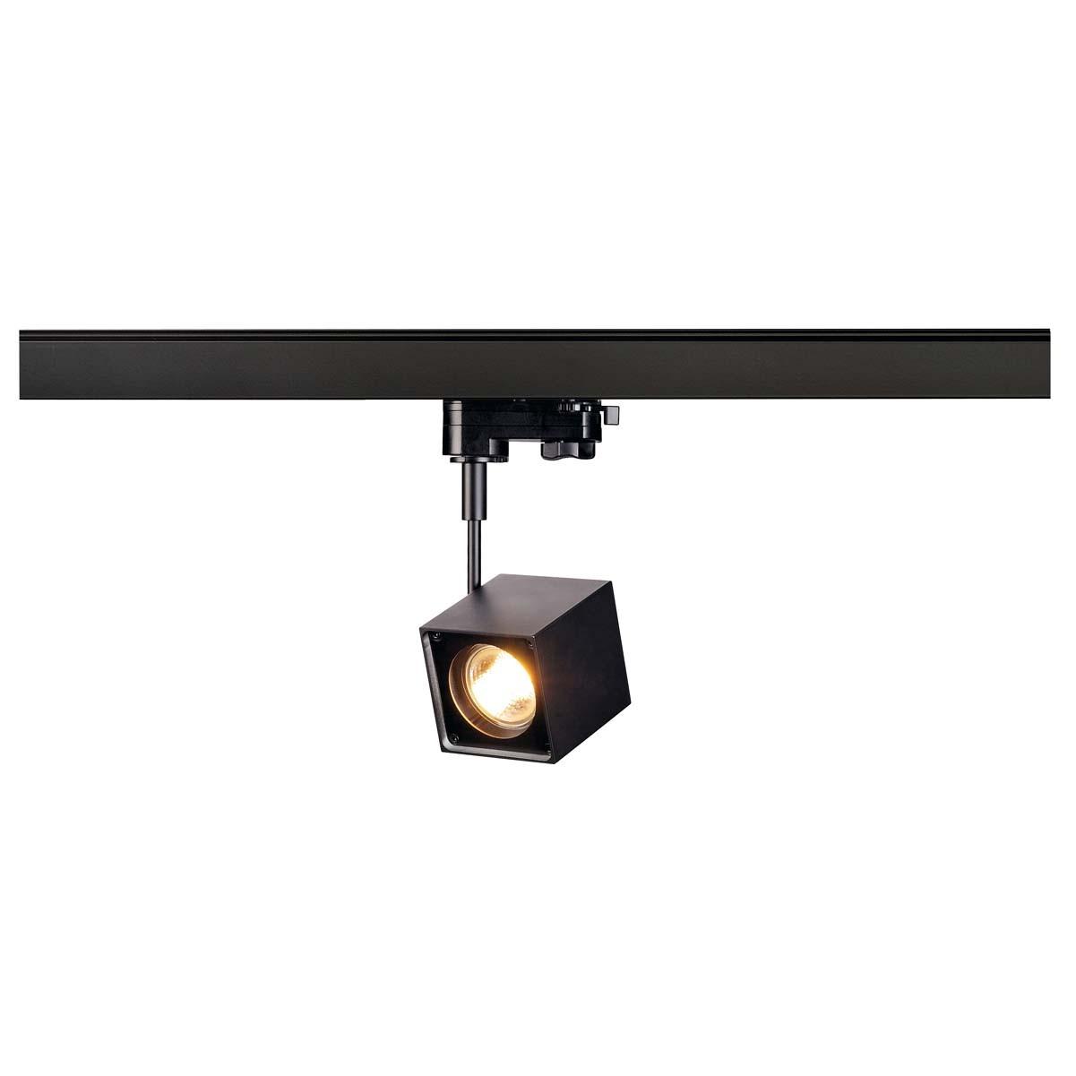 SLV 152320 Altra Dice 50W Black Eutrac 3 Circuit 240V Track Light