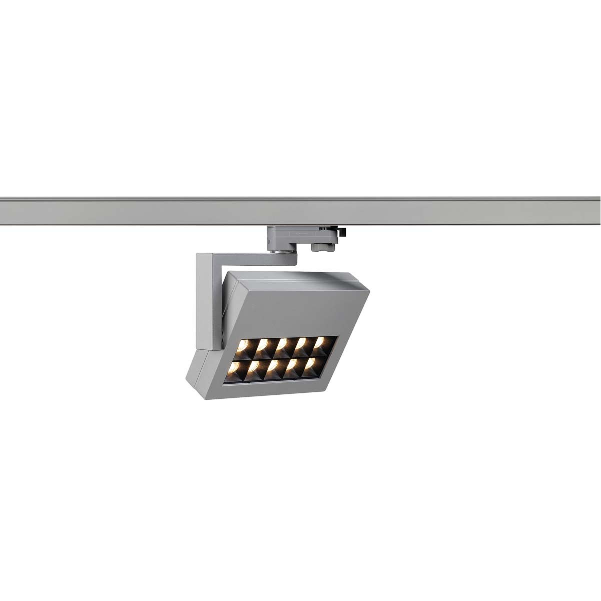 SLV 152554 Profuno LED Spot 18W 3000K Eutrac 3 Circuit Track Light Silver Grey