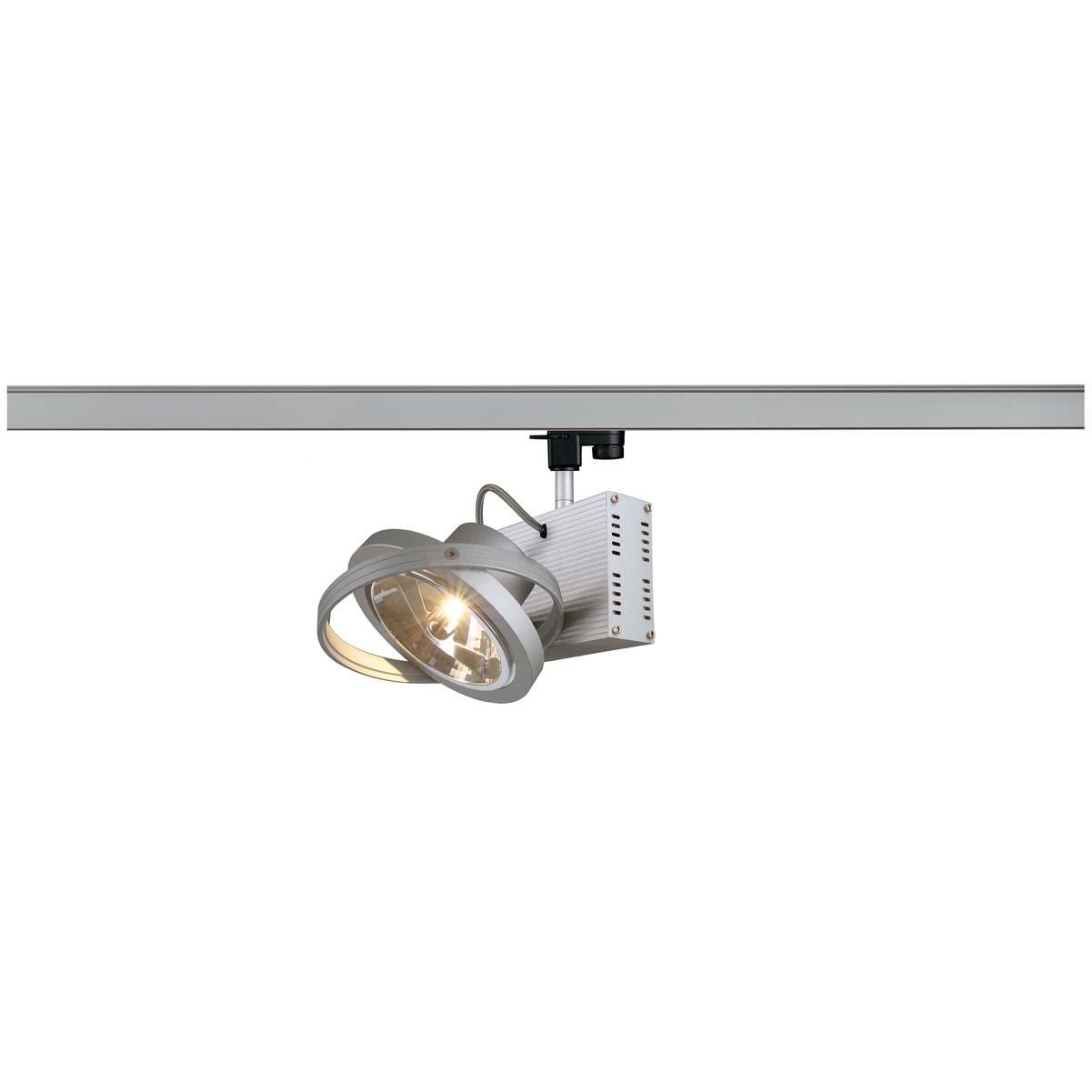 SLV 153002 Tec 1 QRB 50W Silver Grey Eutrac 3 Circuit 240V Track Light