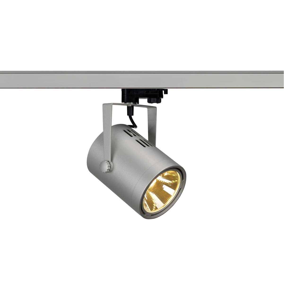 SLV 153814 Euro Spot LED 20W 3000K Eutrac 3 Circuit Track Light Silver Grey DIMMABLE