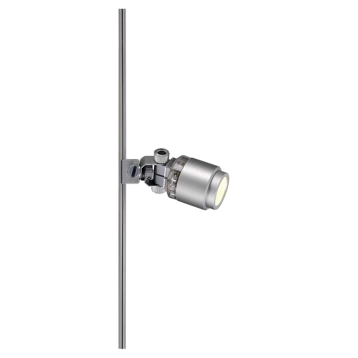 SLV 186042 Power-LED Spot 1W 3000K Silver Grey Glu-Trax / Mini Alu Track 12V Light