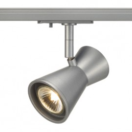 SLV 143344 Diabo 35W Silver Grey 1 Circuit 240V Track Light