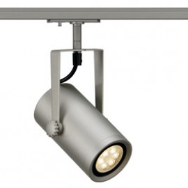 SLV 143824 Euro Spot Integrated LED 13W 3000K Silver Grey 1 Circuit 240V Track Light