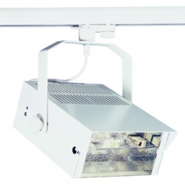 SLV 150621 HQI-TS Flood 150W White Eutrac 3 Circuit 240V Track Light