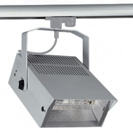 SLV 150622 HQI-TS Flood 150W Silver Grey Eutrac 3 Circuit 240V Track Light