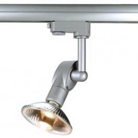 SLV 152282 Luna 1 75W Silver Grey Eutrac 3 Circuit 240V Track Light