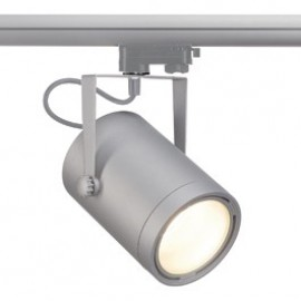 SLV 153384 Euro Spot LED DLMI 15W 3000K Silver Grey Eutrac 3 Circuit 240V Track Light