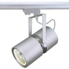 SLV 153404 Euro Spot G12 70W 15 Degree Silver Grey Eutrac 3 Circuit 240V Track Light
