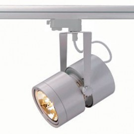 SLV 153434 Euro Spot QRB111 75W Silver Grey Eutrac 3 Circuit 240V Track Light